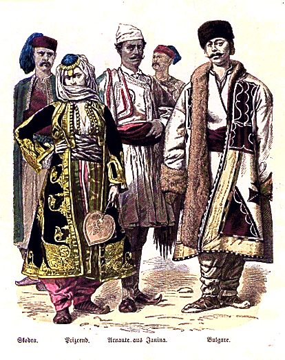 arnauts  albanians  from