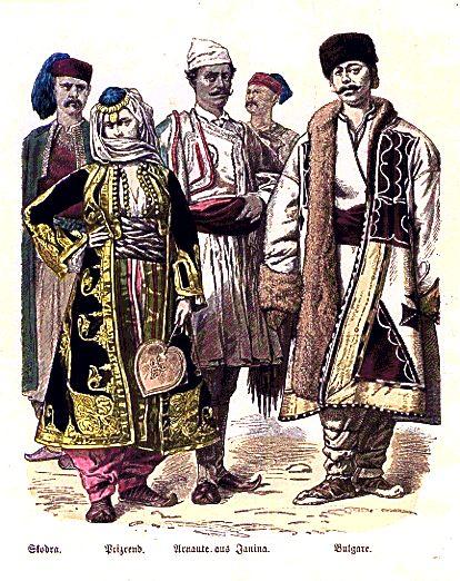 arnauts  albanians  from