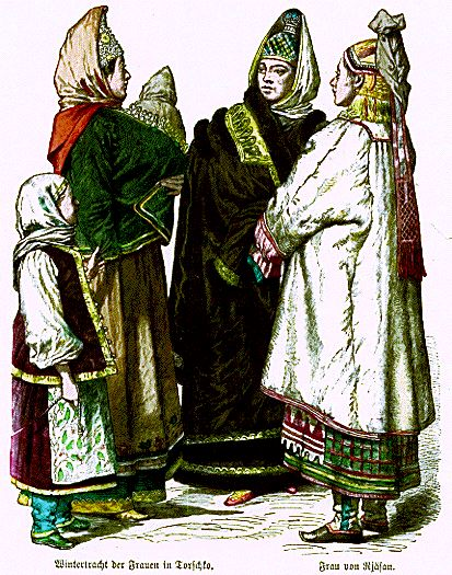 Fashion of the 19th century in Russia