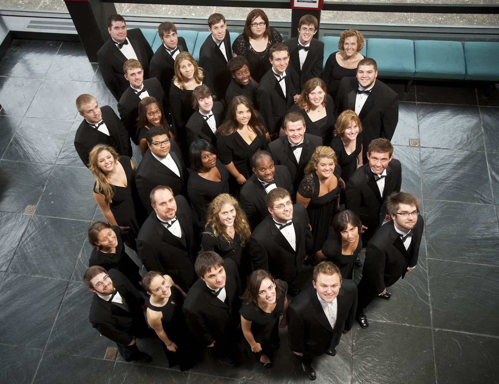 pictures of black youth choirs
