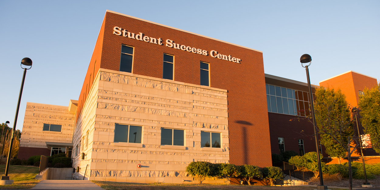 Exterior view of the Student Success Center.