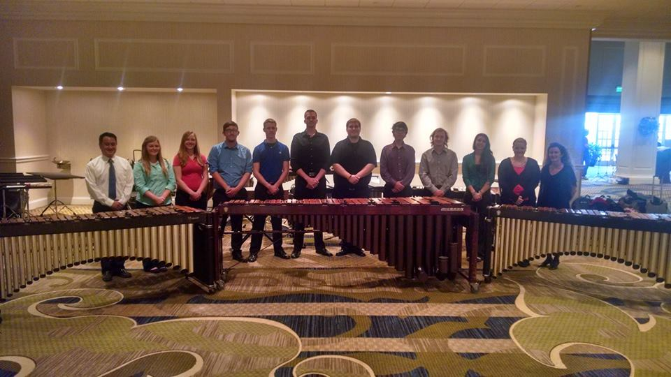 Percussion Ensemble Photo