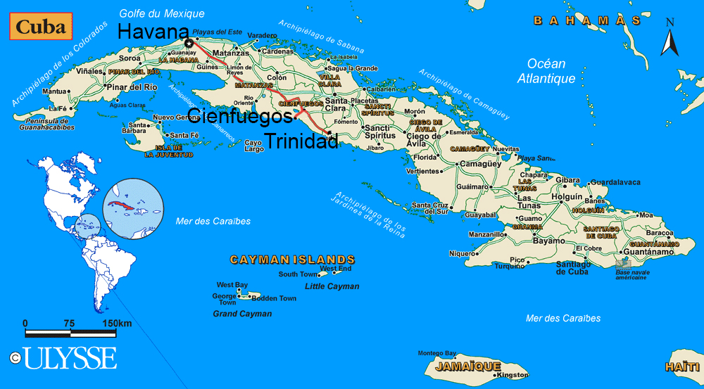 Maps Of Cuba - Cuba map