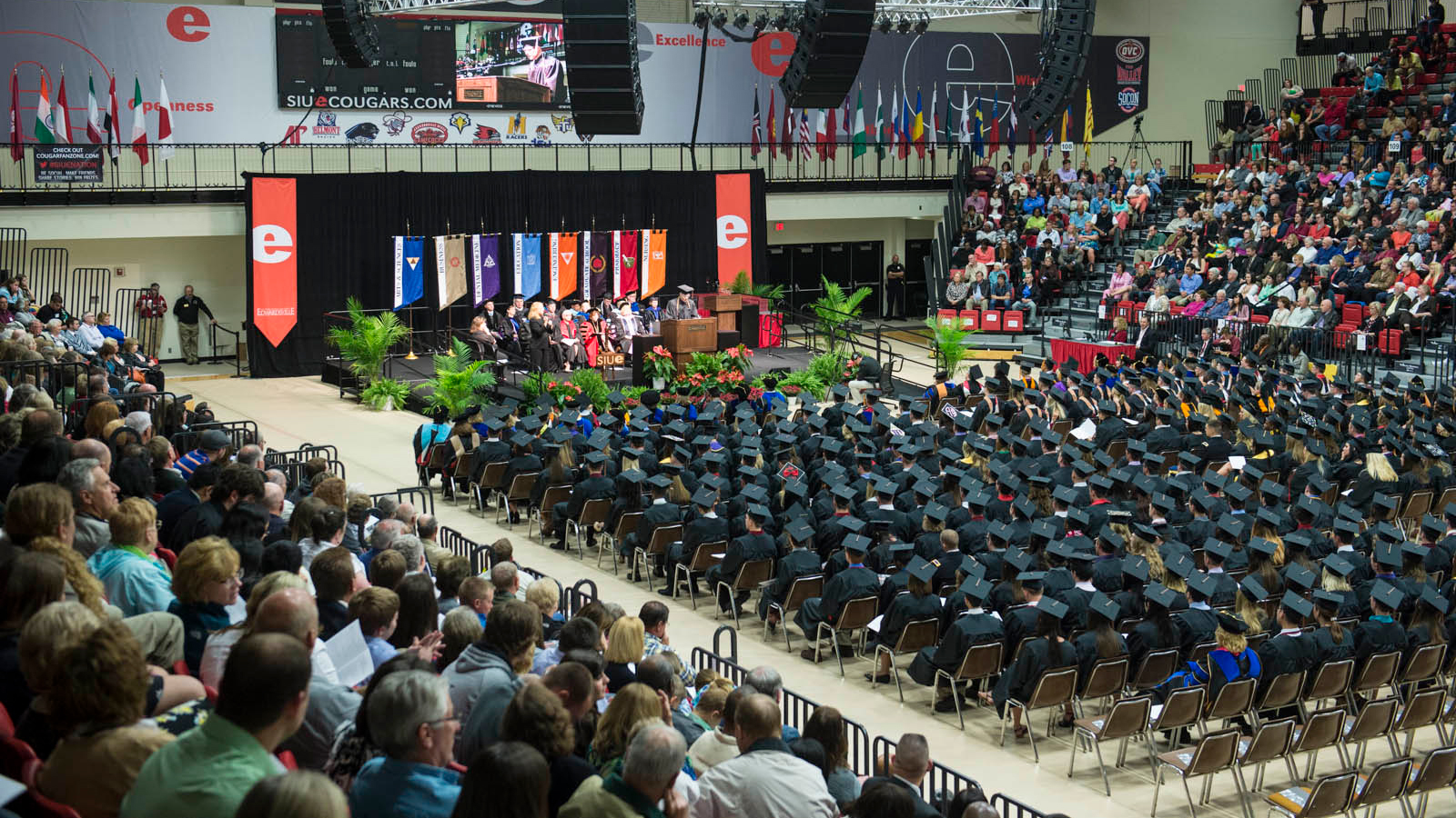 Commencement Ceremonies at SIUE