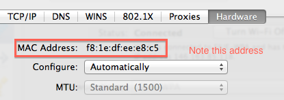 how to change your ip address mac os x