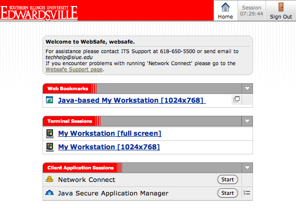 websafe screen shot