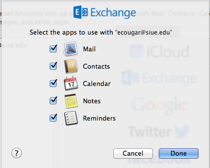 apple mail exchange apps