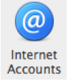 apple mail internet accounts icon