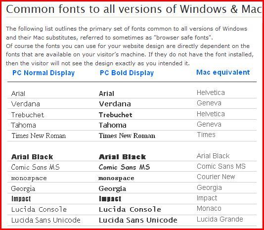 Seamonkey Tutorial - Browser Fonts