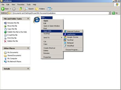 Seamonkey Tutorial - Edit Existing Page