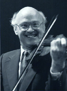 John Kendall Playing the Violin