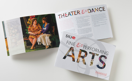Fine & Performing Arts Brochure