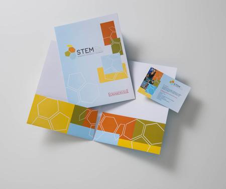STEM Folder & Postcard