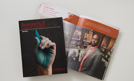 Research and Creative Activities Magazine - Fall 2015