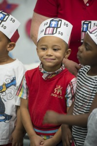 SIUE Head Start Celebrates National 50th Birthday With Red White And Blue