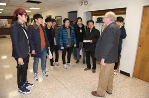 12-02-14, ERTC, Korea, South, Tongmyoung, University, visiting