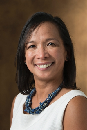 Zenia Agustin, PhD and professor in SIUE's Department of Mathematics and Statistics.