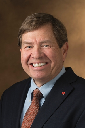 Stephen Hansen, PhD, SIUE Interim Chancellor