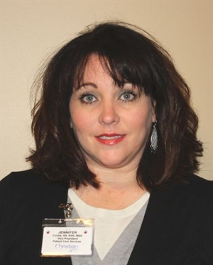 Jennifer Cordia, RN, BSN, MBA, vice president/chief nurse executive for Christian Hospital.