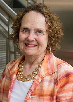 Susan Breck, PhD, professor and chair in the Department of Teaching and Learning.