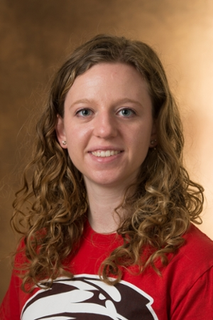 SIUE's Chloe Huelsmann, a senior majoring in civil engineering, and recipient of the Student Laureate Award.