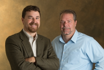 (L-R) Dr. Stephen Hupp and Dr. Jeremy Jewell, professors of psychology at SIUE.