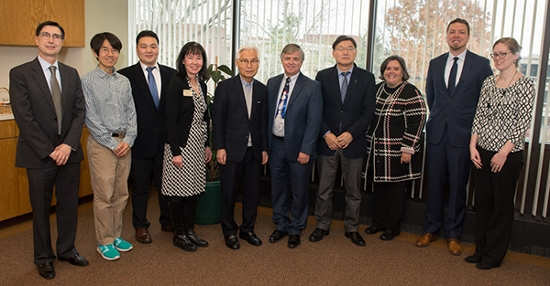 SIUE hosted a delegation from Tongmyong University (TU), of Busan, South Korea, Monday-Wednesday, Dec. 5-7, during which the administrators from the two institutions discussed expanding their strong academic collaborations.