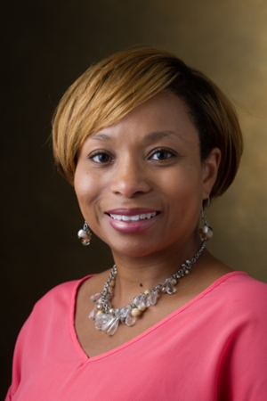 Lakesha Butler, PharmD, camp coordinator and School of Pharmacy clinical associate professor