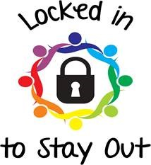 Locked in to Stay Out Logo