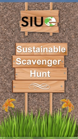 SIUE's new sustainability app.