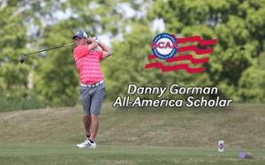 SIUE Golfer Danny Gorman