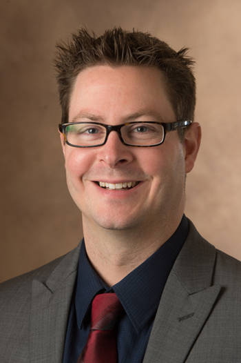 Kevin Stein, CRNA, DNAP, assistant professor and director of the School of Nursing's nurse anesthesia DNP program.
