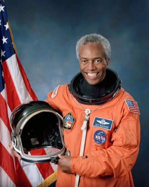 black retired astronaut guy bluford