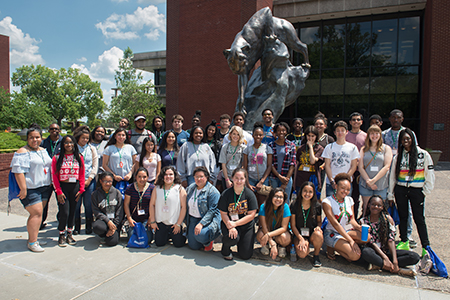 Siue office of admissions hosts high school students from - University of illinois admissions office ...