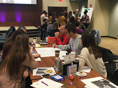 Students from SIUE Schools of Pharmacy and Nursing were among those attending the Student Hotspotting learning collaborative event held in Springfield in September.