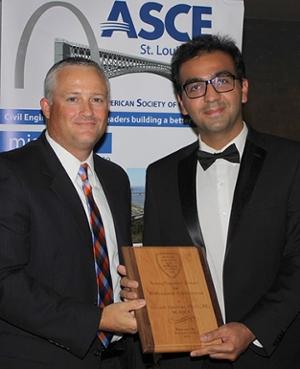 Siavash Zamiran receives ASCE Young Engineer Award