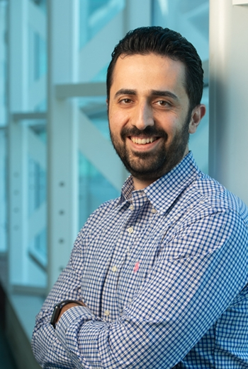 SIUE's Nima Lotfi, PhD, assistant professor in the Department of Mechanical and Industrial Engineering.