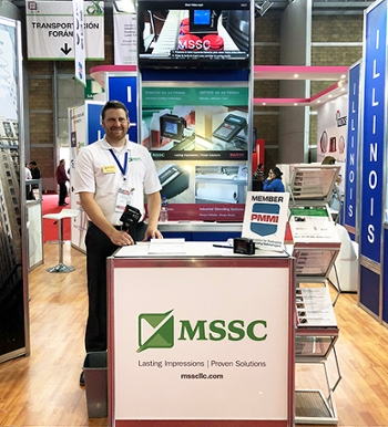 Mike Strope, Vice President of Sales and Marketing of Marsh Shipping Supply Co, LLC, attends Expo Pack.