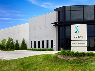 Sev-Rend High-Performance Packaging, located in Collinsville.
