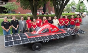 SIUE Solar Car Donated to Berea College