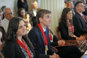 Austin Tuttle is Student Lincoln Laureate