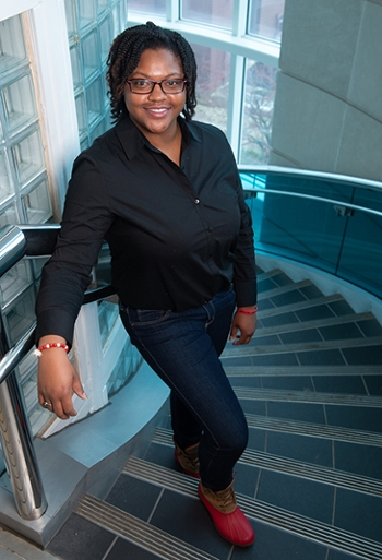 East St. Louis native Yelana Moton will earn a bachelor's in construction management, with a minor in business administration, from the SIUE School of Engineering on Saturday, Dec. 15.