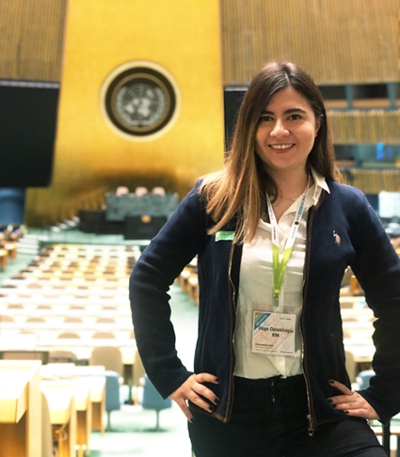 SIUE School of Engineering's Ozge Ozisiklioglu, a sophomore in the ITU/SIUE Dual Degree program visited New York University and the United Nation headquarters through the Youth Assembly program organized by the Friendship Ambassadors Foundation.