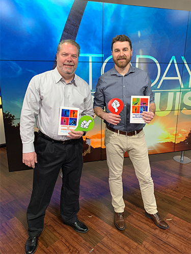 SIUE psychology professors Drs. Jeremy Jewell and Steve Hupp played a Myth vs. Truth game on Show Me St. Louis
