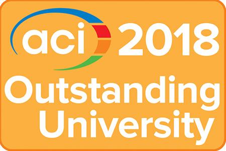 2018 ACI Outstanding University