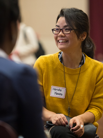 Haruka Kawata previously attended the SIUE Graduate Admissions Open House to learn more about the art therapy counseling program and gain the perspective of current graduate students.