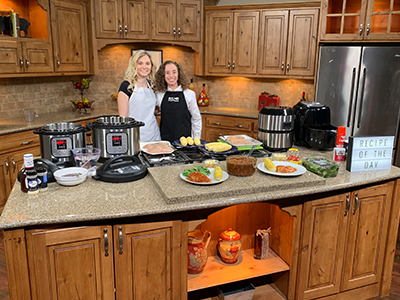 SIUE's Kathy Mora, PhD, RD, assistant professor of nutrition, and her Undergraduate Research and Creative Activities student Allison Lutz shared a glimpse into their research on Show Me St. Louis Thursday, March 21.