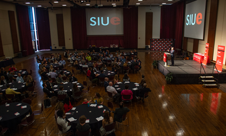 More than 100 students received scholarship awards valued at over $200,000 during the SIUE School of Business Scholarships and Awards Program.