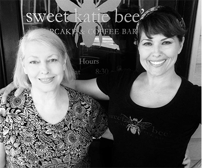 Sweet Katie Bee's owners Kate Hendrix (left) and her daughter Beth.