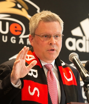 SIUE AD Tim Hall Press Conference